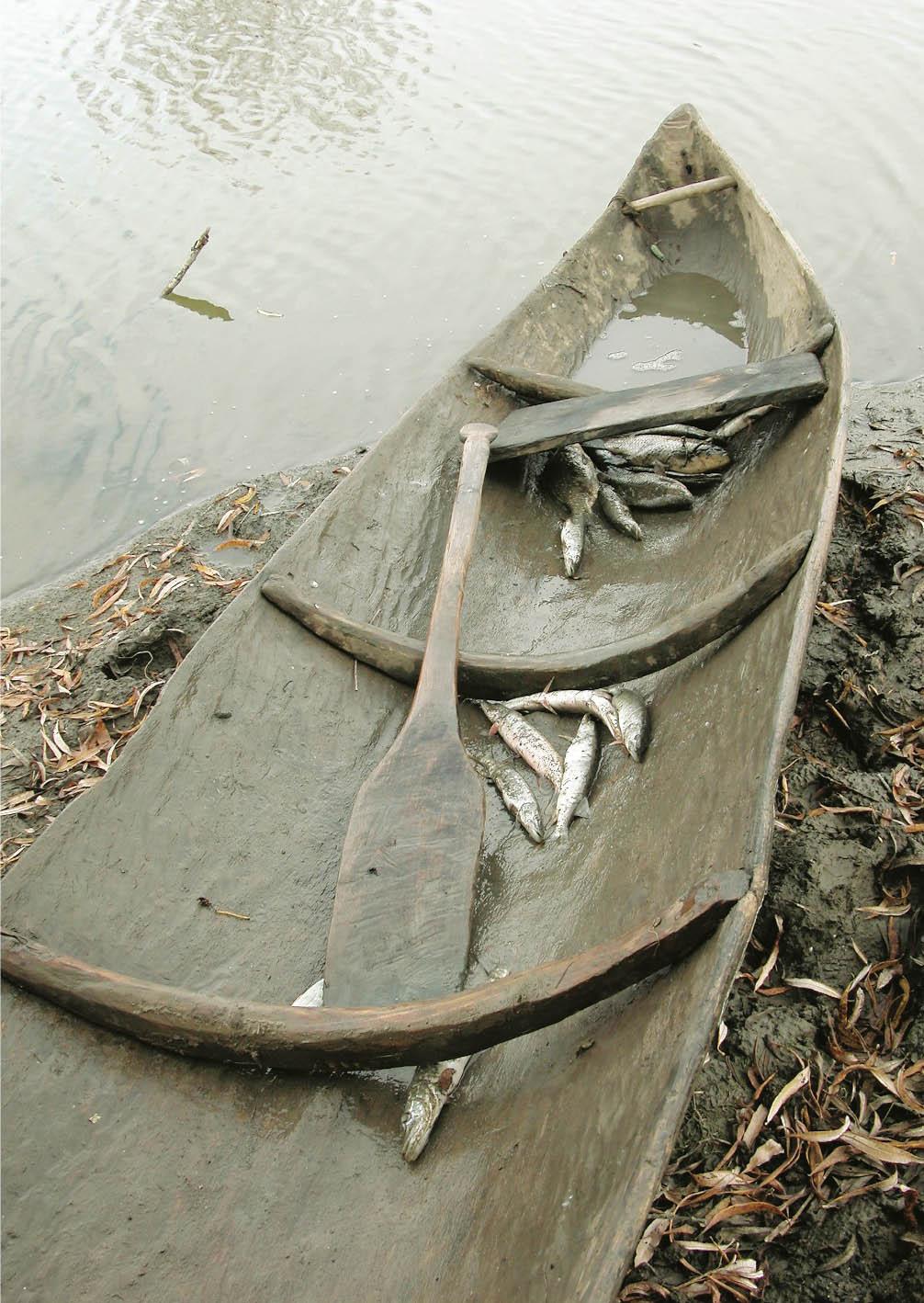 изобретение лодки и весла